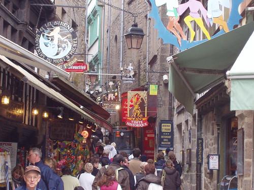 Calles ciudadela Monte Saint Michel (foto: Flirck ramonorum)