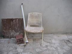 stile croato, Vrsar (cadrage) Tags: sedia vrsar orsera