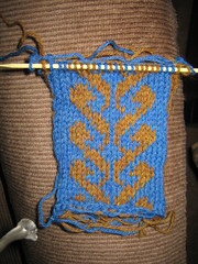 Swatch for Test-knitting project #2