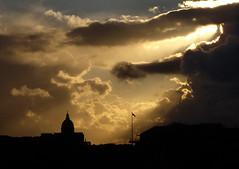 Golden Silhouettes (Bobshaw) Tags: sky silhouette golden scotland edinburgh