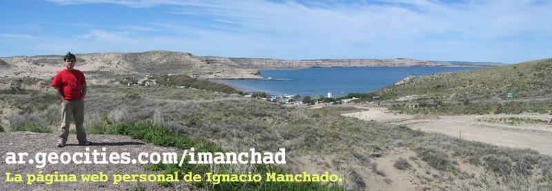 La página Web personal de Ignacio Manchado.
