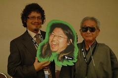 danjite, frankwu and Fan GoH Takumi Shibano