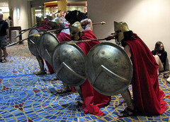 300 Spartans (sciencensorcery) Tags: cosplay scifi conventions 300 con dragoncon spartans dragoncon2007 dragoncon07