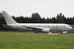 G-SJET Boeing 767 Silverjet - Shannon Airport (benallsup) Tags: ireland irish holiday plane airport aircraft aviation air eire shannon boeing 767 silverjet silverspirit shn allsup gsjet