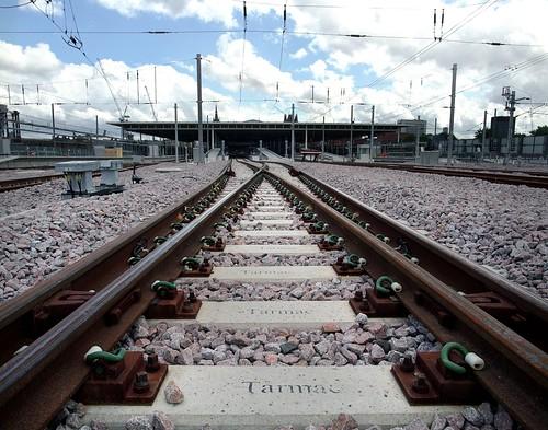 Eurostar Railway Tracks