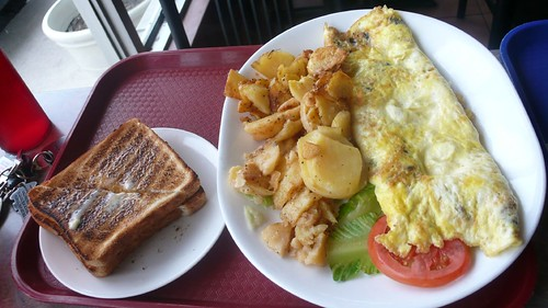 Photo review by ciacia HER:  Mushroom Omelet & Toast