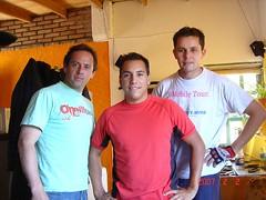 Hernan, Ariel y Dario