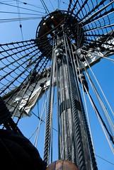 The Crow's Nest of the Batavia Replica