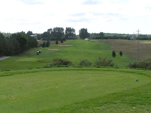 18th hole, Heathlands Golf Course, Onekama, Michigan