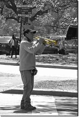Life is music...or music for a living? (♡ Popotito ♡) Tags: street city people urban musician music playing man money male cars southamerica liberty outdoors calle buenosaires exterior play traffic gente air poor working trumpet ciudad beggar esquina carros musica urbano tunes pobre performer aire unemployed libre hombre dinero indigente trabajando listen sudamerica trafico tocando trompeta callejero escucha masculino musico pedir ambulante capitalfederal supershot desempleado limosnero abigfave