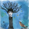 The Tree woman deeply in love with the king bird