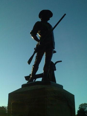 Minuteman at Dusk