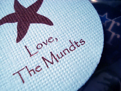 Love, The Mundts :)