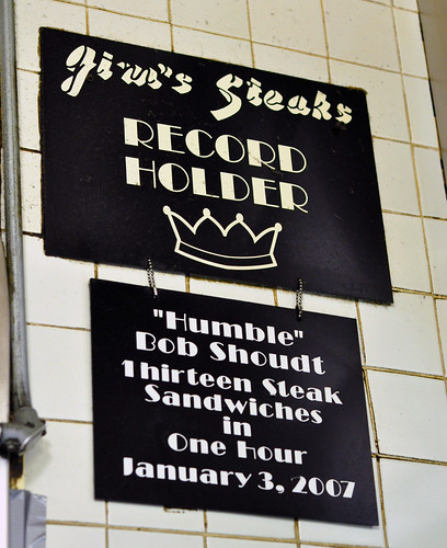 Cheesesteaks_Jims Plaque