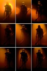 ALTERNATIVE FRAMES: The Tatooine Sunset (Avanaut) Tags: orange storm trooper actionfigure star miniature starwars action figure stormtrooper wars 60mm alternative hasbro tatooine sandtrooper