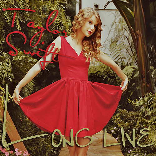 Taylor Swift-long live Cover. www.sellyishajonas.tumblr.com