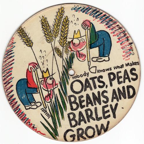 oats, peas, beans &