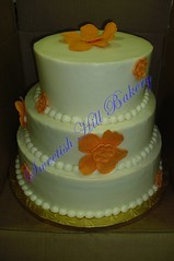 orange flower cake (sweetishhillbakery) Tags: orange weddingcake fantasyflower sweetishhillbakery