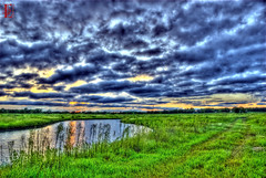 Progress vs Preservation (Kansas Poetry (Patrick)) Tags: sunset lawrencekansas bakerwetlands wakarusawetlands patricklovesnancyasalways