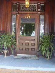 Logan Mansion Front Door