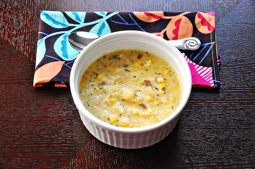 Corn and Chorizo Chowder