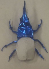 Hercules beetle (PhillipWest) Tags: origami paperfolding papiroflexia