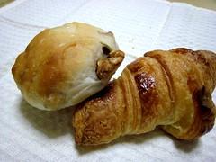 2007.6.15 bonne volunte'(ボン・ボランテ)9 クロワッサン&くるみパン