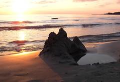 sandcastle (veebruar) Tags: sunset sea summer sandcastle naturesfinest anawesomeshot superbmasterpiece