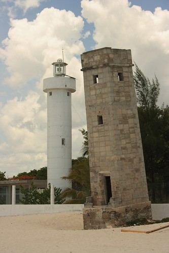 Inclined Lighthouse of Celestun