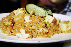 a fried rice thing