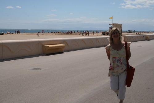 Yvonne at Beach