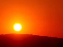 rolling down the hill (Maria Yu) Tags: sunset red sun day end orrange goldenegg mywinners strandjamountain