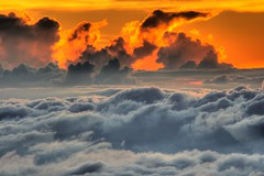 Top of the World, Haleakala Crater, Maui, Hawaii (Don Briggs) Tags: sunset clouds hdr themoulinrouge mauihawaii haleakalacrater