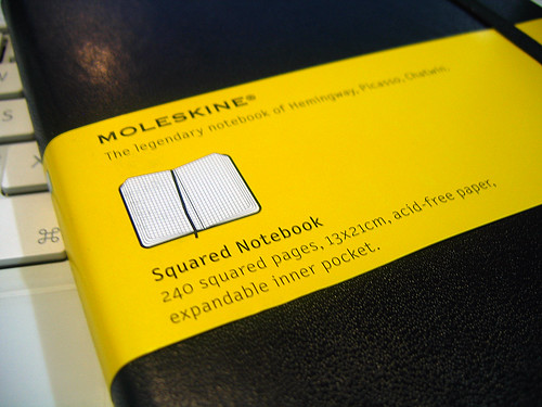 Moleskine Squared Notebook 1