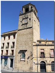 Clock Tower / Torre del Reloj (SantiMB.Photos) Tags: espaa clock church andaluca spain towers iglesia reloj jan torres beda belltowers campanarios platinumphoto anawesomeshot aplusphoto vacaciones2007 coolestphotographers theperfectphotographer
