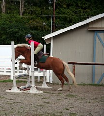 KelseyJumps2 (dkjd) Tags: horse jumping pony kelsey stable woodinville