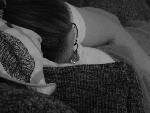 Napping Mom