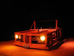 $250 set (evad 33) Tags: car theater theatre stlouis plays setdesign tinceiling stagedesign woodencar losingtime stlouistheater