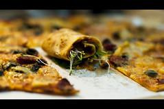 Dear Darla (michaeljosh) Tags: vegetables yellowcab pizza olives pepperoni alfalfa nikkor50mmf14d project365 cinematiccrop nikond90 deardarla michaeljosh