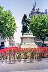 930625  Pierre-Paul Riquet (rona.h) Tags: france june 1993 cacique bezier canaldumidi ronah pierrepaulriquet