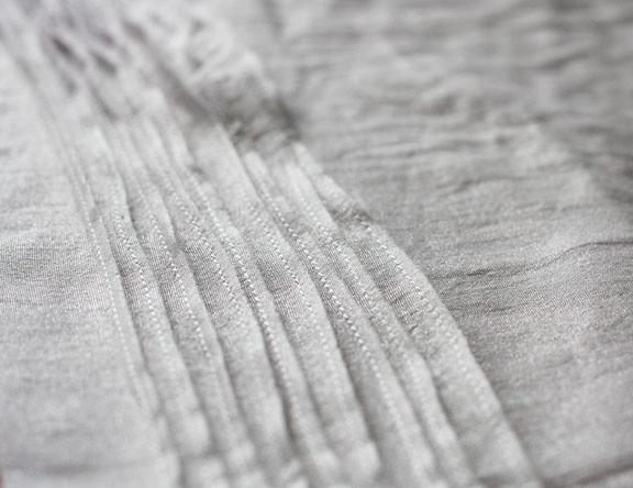 pin tuck