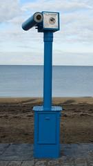 Aberystwyth (Dubris) Tags: sea beach wales seaside cymru aberystwyth telescope ceredigion