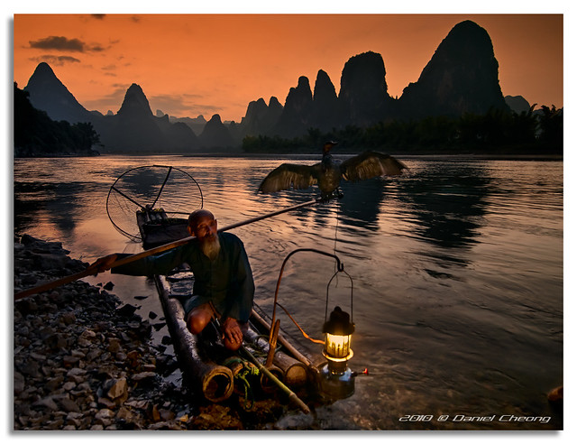 The Old Fisherman and his Cormorant 11