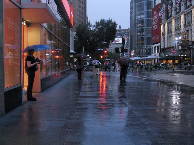 Rain, Midtown