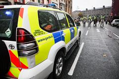 Student Fees Protest (Neil Dorgan) Tags: street ireland dublin college riot student education garda free neil row demonstration fee merrion dorgan