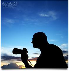 A Friend of Mine (AnNamir c[_]) Tags: sunset silhouette canon nikon human malaysia silueta doc outing selangor klik kelanang syafwan annamir klno sileut