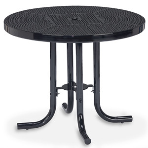 "D1150 - 36"" Round Patio Table with Perforated Surface"
