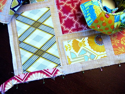 Machine Applied Quilt Binding
