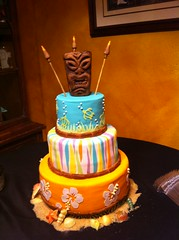 Tiki Birthday Cake (FrogMiller) Tags: birthday friends beautiful cake fun amazing baker birthdayparty delicious luau happybirthday tiki gardengrove baked