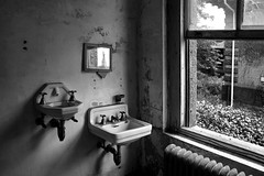 coming to America (Desolate Places) Tags: abandoned hospital patient isolation wards